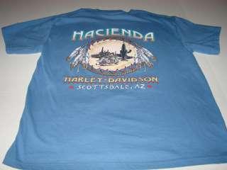 HARLEY DAVIDSON SCOTTSDALE, ARIZONA MENS T SHIRT SZ L
