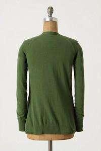 Sparrow Scaffold & Scrim Cardigan Sweater CASHMERE M L