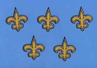 Lot New Orleans Saints NFL Football Patches Crests D