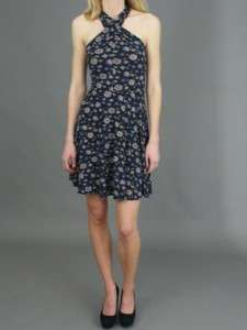 NWT Free People Criss Cross Printed Floral Dress