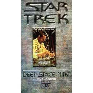 Star Trek   Deep Space Nine, Episode 68 Explorers [VHS] Star Trek