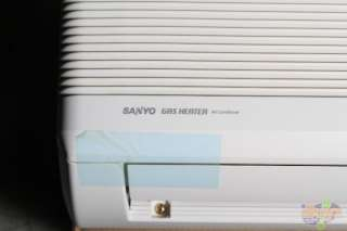 sanyo 14kgs11 mini split ductless ac gas heater 1 ton