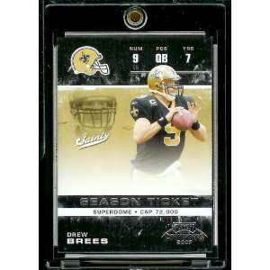 2007 Playoff Contenders # 62 Drew Brees   New Orleans Saints   NFL