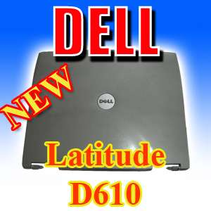NEW DELL Latitude D610 LCD Top Lid Back Cover D4553