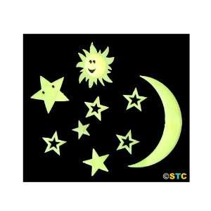 Glow In The Dark Sun, Moon, & Stars ~ Glow In The Dark