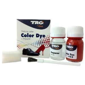 the One Self Shine Leather Dye Kit #162 Light Red