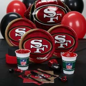 Lets Party By HALLMARK San Francisco 49ers Standard Party