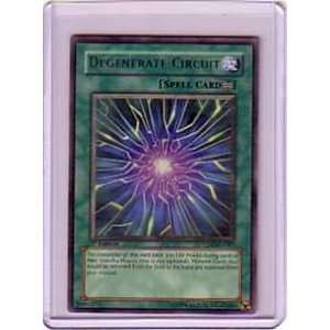 Degenerate Circuit RARE Yugioh Card CDIP EN047 Cyberdark