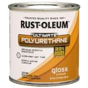 Oleum 260354 Ultimate Polyurethane, Half Pint, Gloss