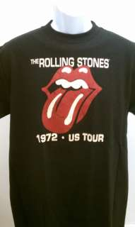ROLLING STONES T SHIRT 1972 US TOUR NWT SM XL NEW TSHIR