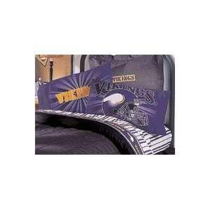 NFL Football Minnesota Vikings   Pillowcase / Pillow Cover