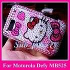 Hello Kitty S Bling Hard Case Cover Motorola Defy MB525