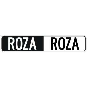 NEGATIVE ROZA  STREET SIGN: Home Improvement