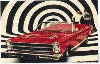 1966 FORD FAIRLANE GT CONVERTIBLE Original Factory Issue OP ART