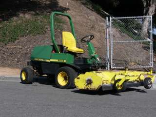 RIDING MOWER 72 FLAIL DECK 4X4 DIESEL POWERED GOVERNMENT OWNED
