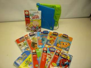 Leap Frog Leapad System 10 Books w/ Cartridges