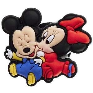DIY Jewelry Making Disney Baby Mickey & Minnie Kiss Croc Charm
