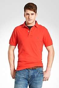 NEW $49 MENS TOMMY HILFIGER CLASSIC KNIT POLO SHIRTS VARIOUS COLORS
