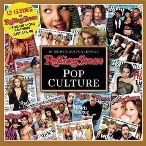 Rolling Stone   Pop Rock 2011 Wall Calendar