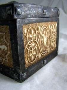 Catholic Religious Rosary Jewelry Keepsake Box Case