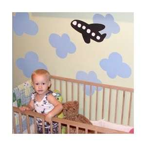 Re Stik Blue Cloud Wall Stickers Baby