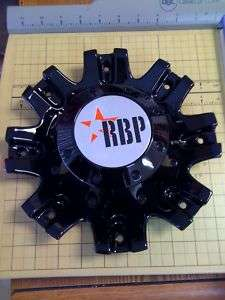 RBP 94R Black Wheel RIM Center Cap Part# C 94R 18/20