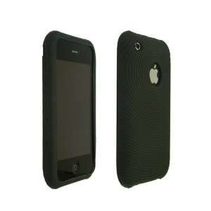 Apple iPhone Black Soft High Quality Silicone Skin Back Case Cover for