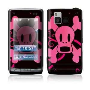 LG Dare VX9700 Skin Sticker Decal Cover   Pink Screaming