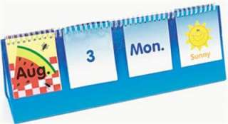 CALENDAR WEATHER FLIP CHART Teacher Kindergarten Class