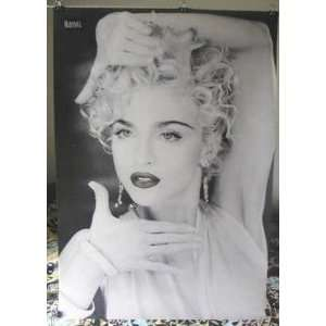 Madonna Scarce Black & White Poster Vogue Era Marilyn Monroe Look