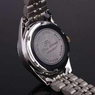 Classic Black Two Tone Crystal Women Quartz Watch NI52 ( 1 ) 248N