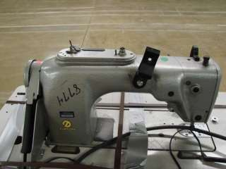 Durkopp 212 15105 Sewing Machine+.75HP Motor+Table Commercial Textile