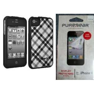 iPhone 4/4S with OEM Puregear Apple iPhone 4/4S Screen Protector 3