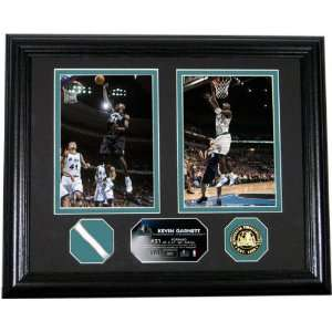 Kevin Garnett NBA All Star Photo Mint with Authentic Game
