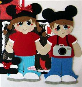KAM PREMADE MAT SET DISNEY TEAR BEAR MICKEY MOUSE 4 PAPER PIECING PAGE