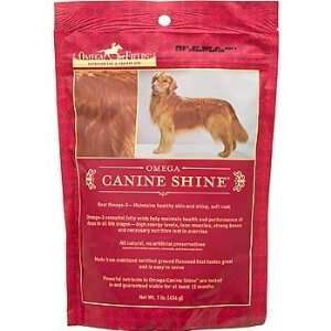 Omega Canine Shine Dog Skin & Coat Supplement Health & Personal Care