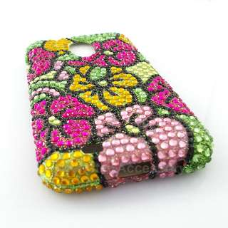 Bling Hard Case Cover Samsung Galaxy S2 Sprint Epic 4G Touch