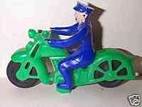 HUBLEY 1950s HARLEY DAVIDSON POLICE MOTORCYCLE