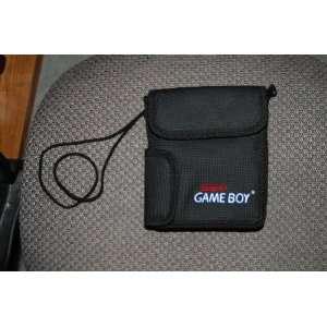 Nintendo Game Boy Black Case with Strap