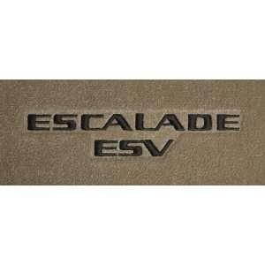 Logo 2007 2011 Cadillac Escalade ESV Luxury 2 Pc Front Mats Luxury