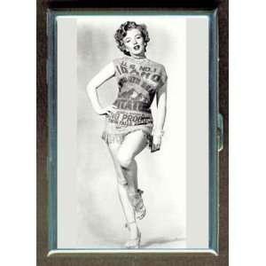KL MARILYN MONROE POTATO SACK HOT ID CREDIT CARD WALLET CIGARETTE CASE
