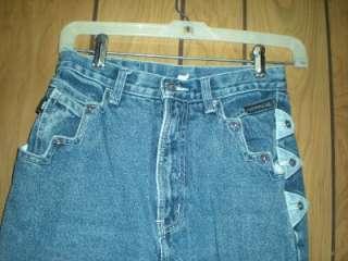 Ladies Western Ethics Western Jeans & Vest Med 3 26x37