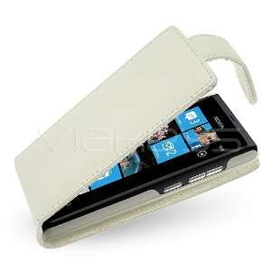 Genuine Leather Flip Case for Nokia N9 + Screen Protector Electronics
