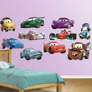 Disney Pixar Cars 2 Collection Fathead Wall Graphic NEW
