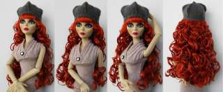 Fashion Wigs and hat for Evangeline Ghastly/Ellowyne Wilde(9 VHW 5
