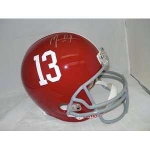 MARK INGRAM Signed Alabama Crimson Tide FS Helmet PSA   Autographed