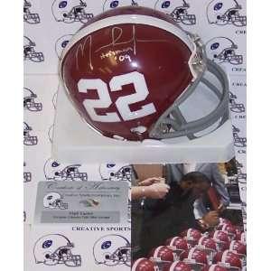 Mark Ingram Hand Signed Alabama Crimson Tide Mini Helmet