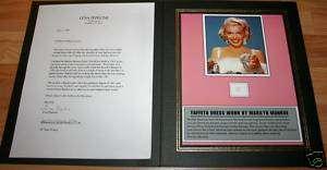 Original Taffeta Dress Marilyn Monroe Famous Movie Star