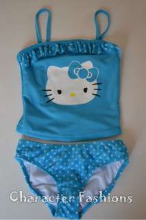 Hello Kitty Swimsuit Bathing Suit Size 4 5 6 6X 7 8 10 12   2 Piece