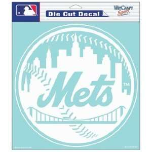 MLB New York Mets 8 X 8 Die Cut Decal